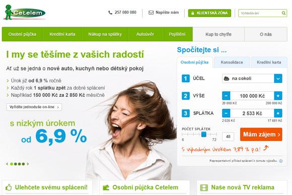 Společnost CETELEM ČR, a.s.