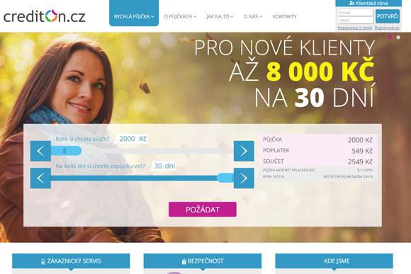 Společnost creditOn.cz s.r.o.