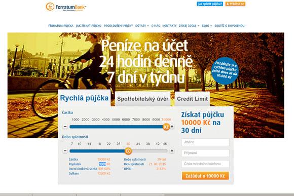 Společnost Ferraum Bank Ltd
